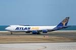 遠森一郎さんが、北九州空港で撮影したアトラス航空 747-87UF/SCDの航空フォト(写真)