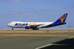 tsubameさんが、北九州空港で撮影したアトラス航空 747-87UF/SCDの航空フォト(写真)