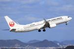 ぽんさんが、高松空港で撮影した日本航空 737-846の航空フォト(写真)