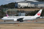 遠森一郎さんが、福岡空港で撮影した日本航空 767-346/ERの航空フォト(写真)