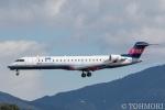 遠森一郎さんが、福岡空港で撮影したアイベックスエアラインズ CL-600-2C10 Regional Jet CRJ-702ERの航空フォト(写真)
