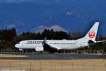 HS888さんが、鹿児島空港で撮影したJALエクスプレス 737-846の航空フォト(写真)