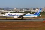 青春の1ページさんが、伊丹空港で撮影した全日空 787-881の航空フォト(写真)