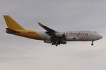 木人さんが、成田国際空港で撮影したエアー・ホンコン 747-467(BCF)の航空フォト(写真)