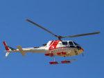 Mame @ TYOさんが、東京ヘリポートで撮影した朝日航洋 AS350B3 Ecureuilの航空フォト(写真)
