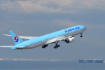 ミッキー2016さんが、中部国際空港で撮影した大韓航空 777-3B5/ERの航空フォト(写真)