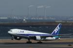 toshirouさんが、羽田空港で撮影した全日空 777-281の航空フォト(写真)