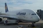 xiel0525さんが、フランクフルト国際空港で撮影したルフトハンザドイツ航空 A380-841の航空フォト(写真)