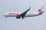 xingyeさんが、スカルノハッタ国際空港で撮影したマリンド・エア 737-8GPの航空フォト(写真)