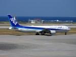 よんすけさんが、那覇空港で撮影した全日空 767-381/ERの航空フォト(写真)