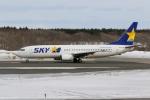 sumihan_2010さんが、新千歳空港で撮影したスカイマーク 737-8HXの航空フォト(写真)
