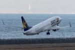 ShiShiMaRu83さんが、神戸空港で撮影したスカイマーク 737-8FZの航空フォト(写真)
