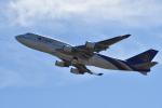 saku39さんが、関西国際空港で撮影したタイ国際航空 747-4D7の航空フォト(写真)