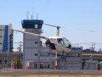 Mame @ TYOさんが、東京ヘリポートで撮影した日本フライトセーフティ R22 Beta IIの航空フォト(写真)