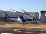 Mame @ TYOさんが、成田国際空港で撮影したオールニッポンヘリコプター AW139の航空フォト(写真)