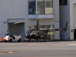Mame @ TYOさんが、東京ヘリポートで撮影した日本フライトセーフティ R44 Raven IIの航空フォト(写真)