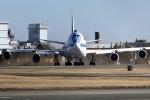 isiさんが、横田基地で撮影したアメリカ空軍 E-4B (747-200B)の航空フォト(写真)