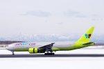 kitayocchiさんが、新千歳空港で撮影したジンエアー 777-2B5/ERの航空フォト(写真)