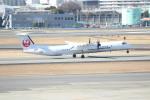 水月さんが、伊丹空港で撮影した日本エアコミューター DHC-8-402Q Dash 8の航空フォト(写真)