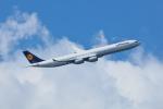 おぺちゃんさんが、羽田空港で撮影したルフトハンザドイツ航空 A340-642Xの航空フォト(写真)