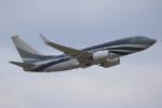 せぷてんばーさんが、成田国際空港で撮影したケイマン諸島企業所有 737-7JW BBJの航空フォト(写真)
