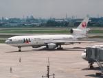 プルシアンブルーさんが、伊丹空港で撮影した日本航空 DC-10-40Dの航空フォト(写真)