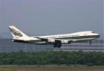 にしやんさんが、新千歳空港で撮影したエバーグリーン航空 747-212B(SF)の航空フォト(写真)