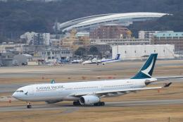 Fukutaroさんが、福岡空港で撮影したキャセイパシフィック航空 A330-342の航空フォト(写真)