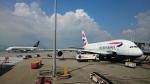 zettaishinさんが、香港国際空港で撮影したブリティッシュ・エアウェイズ A380-841の航空フォト(写真)