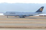 職業旅人さんが、関西国際空港で撮影したルフトハンザドイツ航空 747-430の航空フォト(写真)