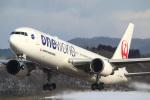 takaRJNSさんが、函館空港で撮影した日本航空 767-346の航空フォト(写真)
