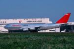 トロピカルさんが、成田国際空港で撮影したノースウエスト航空 747-251F/SCDの航空フォト(写真)