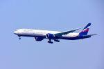 まいけるさんが、スワンナプーム国際空港で撮影したアエロフロート・ロシア航空 777-3M0/ERの航空フォト(写真)