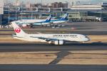 おぺちゃんさんが、羽田空港で撮影した日本航空 787-846の航空フォト(写真)