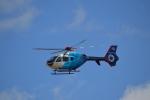 ja0hleさんが、名古屋飛行場で撮影した中日新聞社 EC135P2の航空フォト(写真)