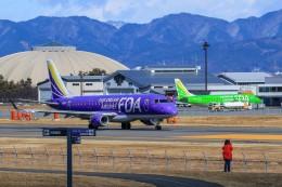 アミーゴさんが、松本空港で撮影したフジドリームエアラインズ ERJ-170-200 (ERJ-175STD)の航空フォト(写真)