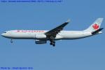 Chofu Spotter Ariaさんが、羽田空港で撮影したエア・カナダ A330-343Xの航空フォト(写真)