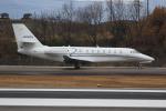 ぽんさんが、高松空港で撮影したノエビア 680 Citation Sovereignの航空フォト(写真)