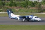 MA~RUさんが、新千歳空港で撮影したオーロラ DHC-8-200Q Dash 8の航空フォト(写真)