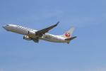 ガス屋のヨッシーさんが、関西国際空港で撮影したJALエクスプレス 737-846の航空フォト(写真)