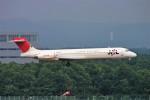 にしやんさんが、新千歳空港で撮影した日本航空 MD-87 (DC-9-87)の航空フォト(写真)