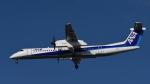 アイガーさんが、伊丹空港で撮影したANAウイングス DHC-8-402Q Dash 8の航空フォト(写真)