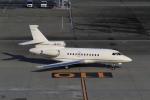 たまさんが、羽田空港で撮影したエグゼクジェット・ミドル・イースト Falcon 900DXの航空フォト(写真)