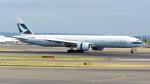 誘喜さんが、ロンドン・ヒースロー空港で撮影したキャセイパシフィック航空 777-367/ERの航空フォト(写真)
