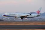 turenoアカクロさんが、高松空港で撮影したチャイナエアライン 737-809の航空フォト(写真)