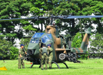 チャーリーマイクさんが、立川飛行場で撮影した陸上自衛隊 AH-1Sの航空フォト(写真)