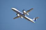 ワイエスさんが、鹿児島空港で撮影したANAウイングス DHC-8-402Q Dash 8の航空フォト(写真)