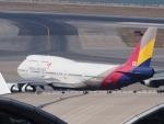 ken1☆MYJさんが、香港国際空港で撮影したアシアナ航空 747-48EMの航空フォト(写真)