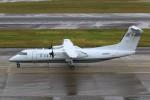 Katayakisobaさんが、中部国際空港で撮影した国土交通省 航空局 DHC-8-315Q Dash 8の航空フォト(写真)