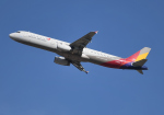 雲霧さんが、成田国際空港で撮影したアシアナ航空 A321-231の航空フォト(写真)